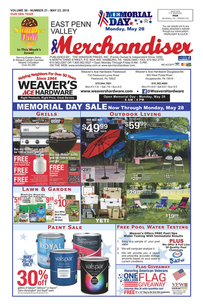 East Penn Valley Merchandiser - May 23, 2018