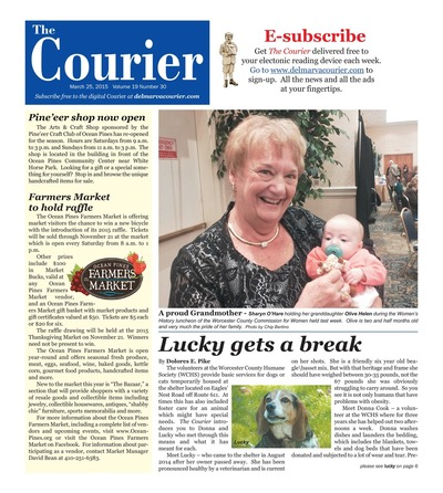 Delmarva Courier - Mar 25, 2015
