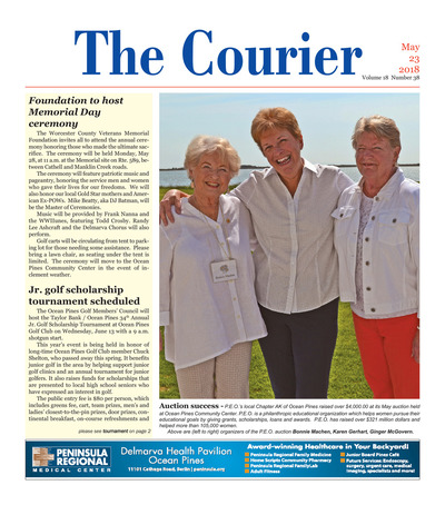 Delmarva Courier - May 23, 2018
