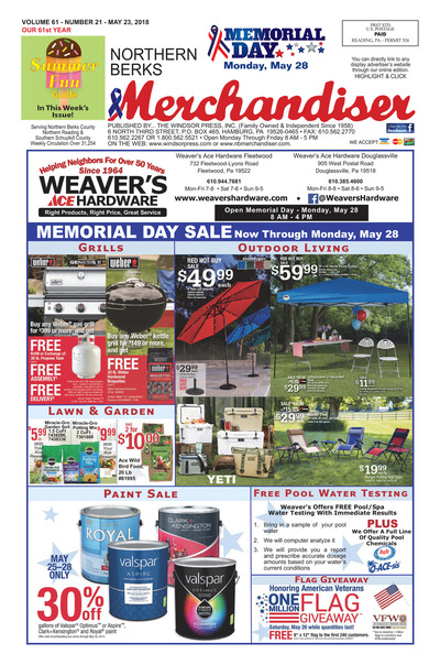Northern Berks Merchandiser - May 23, 2018