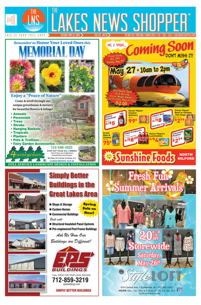 Lakes News Shopper - May 22, 2018