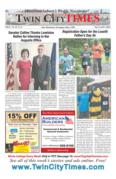 Twin City Times - May 24, 2018