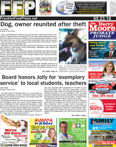 Franklin Free Press - May 23, 2018