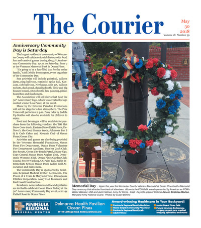 Delmarva Courier - May 30, 2018