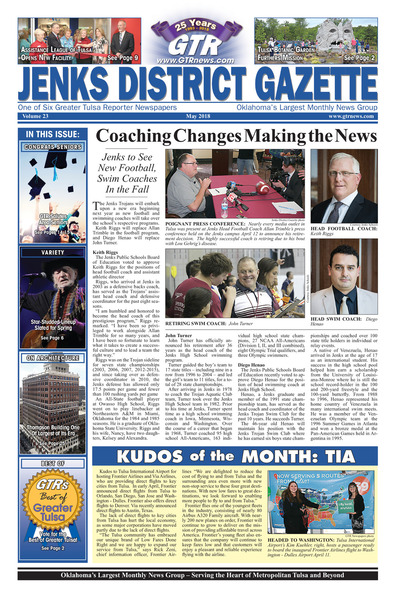 Jenks District Gazette - May 2018