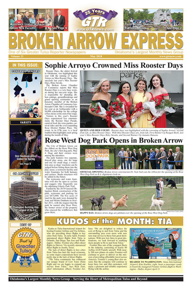 Broken Arrow Express - May 2018