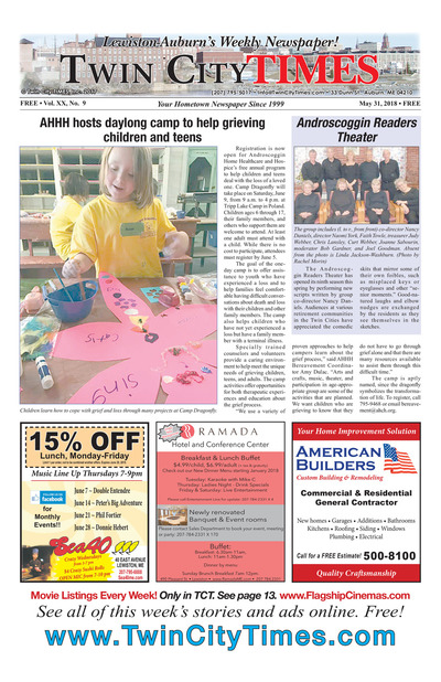 Twin City Times - May 31, 2018