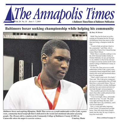 Annapolis Times - Jun 1, 2018