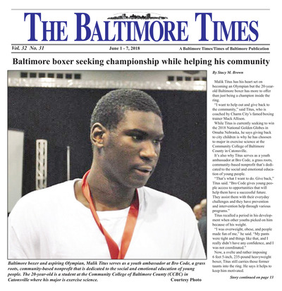 Baltimore Times - Jun 1, 2018