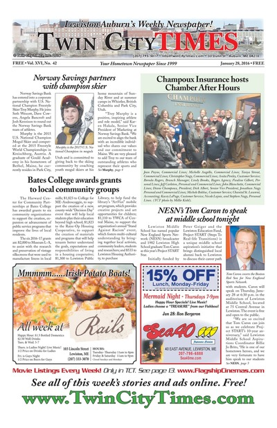 Twin City Times - Jan 28, 2016