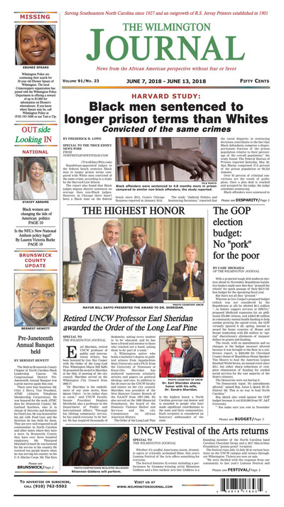 Wilmington Journal - Jun 7, 2018
