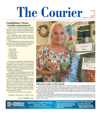 Delmarva Courier - Jun 13, 2018