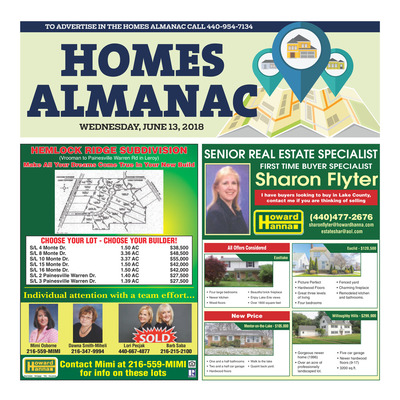 News-Herald - Special Sections - Homes Almanac - June 2018