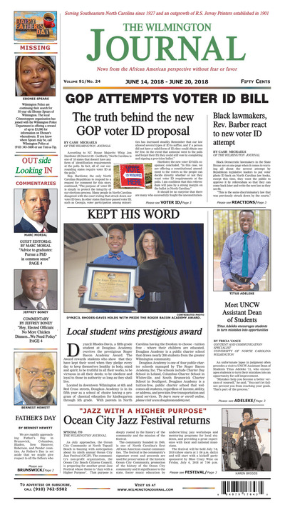 Wilmington Journal - Jun 14, 2018