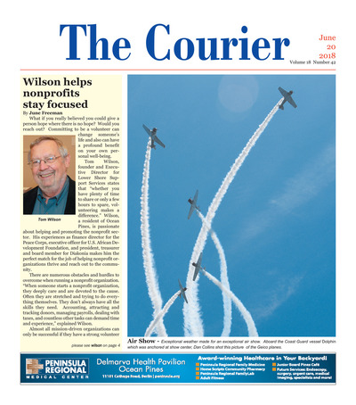 Delmarva Courier - Jun 20, 2018