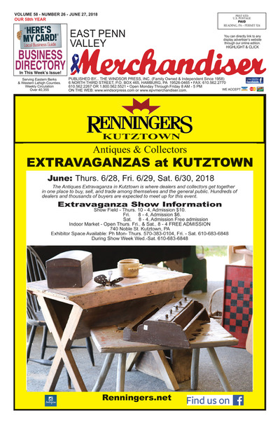 East Penn Valley Merchandiser - Jun 27, 2018